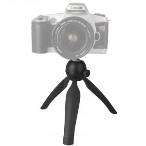 Mini-trépied multi-fonctions Support de support pour téléphone portable / appareil photo numérique (noir) SM213B9-20