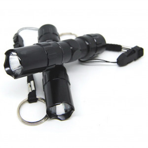 Lampe torche de lampe de poche à LED d'urgence étanche portable en alliage d'aluminium C3156O52W695-20