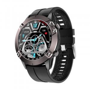 DK60 montre intelligente Bluetooth appel fréquence cardiaque pression artérielle contrôle de la musique bracelet de sport noir C350079NL4820-20