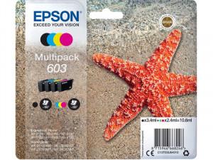 Encre Epson 603 Multipack 4 couleurs C13T03U64010 ENCEPS0422-20