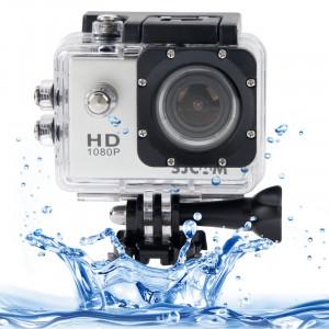 SJCAM SJ4000 Full HD 1080P caméscope LCD LCD 1,5 pouces avec étui étanche, capteur CMOS 12,0 méga, 30 m étanche (blanc) SS025W7-20