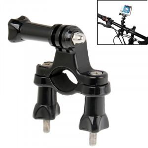 Support de tige de selle de guidon de vélo universel pour caméra de sport extérieur AEE et Gopro HERO4 / 3+ / 3/2/1 (noir) SS00372-20