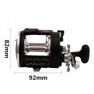 Roue de pêche tambour tambour TSSD 4000 1BB avec fonction d'alarme pour la pêche en eau douce en eau salée main droite CR08281342-20