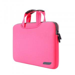 Sac à main portable portatif portable 12 pouces pour MacBook, Lenovo et autres ordinateurs portables, taille: 32x21x2cm (magenta) SS511M-20