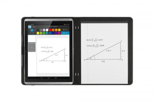 HP Paper Folio Case flip cover for tablet polyurethane, microfibre graphite for Pro Slate 12 XP2195720N298-20