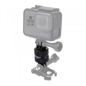 PULUZ 360 ° Rotation CNC Swivel Pivot Prolongateur à bras pivotant pour GoPro, Xiaoyi et autres appareils photo sportifs SPU2206-20