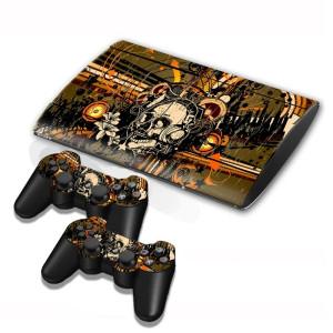 Autocollants pour autocollants série série pour console de jeux PS3 SA003W-20