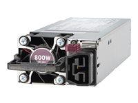 Hewlett Packard Enterprise HPE Flex Slot Platinum Power supply hot-plug (plug-in module) Flex Slot 80 PLUS Platinum AC 230 V 800 Watt XP2346619N2279-20