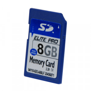 Carte mémoire SD 8GB Elite Pro CMSD8GBEP01-20