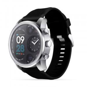 Montre intelligente de sport Tracker d'activité physique en acier inoxydable IP68 Étanche Smartwatch Argent & Noir CM19631665-20