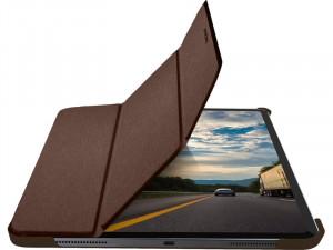 """MacAlly BSTANDPRO4L-BR Étui de protection à rabat pour iPad Pro 12,9"""" 2020 IPDMAY0082-20"""