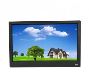 11,6 pouces HD LED Cadre photo Cadre photo numérique Lecteur d'album avec capteur de mouvement Noir Réglementation européenne C0MITS11645-20