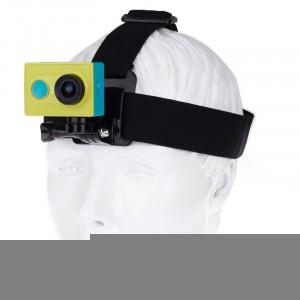 Ceinture de sangle à tête réglable avec support de connecteur pour caméra sport Xiaomi Yi SC04001-20