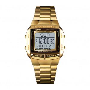 Montre de sport pour homme Montres de luxe militaires imperméables à l'eau LED Digital Wristwatch Gold C25461494-20
