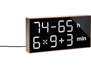 Albert Clock Noyer Horloge digitale ludique ACSABT0002-20