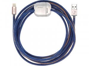 PlusUs LifeRock Câble Lightning vers USB 3 m avec poids ajustable CABPLS0004-20