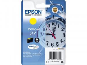 Epson encre Jaune 27 pour imprimante WorkForce ENCEPS0389-20