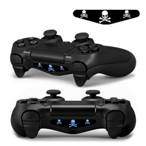 Autocollant autocollant 4 PCS Cool Light Bar Sticker pour PlayStation 4 Controller DualShock 4 SA0135-20