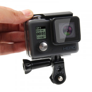 PULUZ Adaptateur de connexion pour trépied à vis pour GoPro HERO5 / 4/3 + / 3/2/1, caméra (noir) SP176B5-20