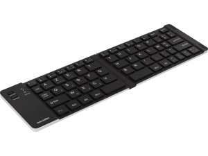 Novodio Travel Keyboard Clavier AZERTY Bluetooth pliable iOS, Android, Mac, PC PENNVO0013-20
