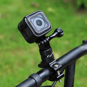 PULUZ Tour de guidage en aluminium à 360 degrés en alliage d'aluminium avec vis pour GoPro HERO5 Session / 5/4 Session / 4/3 + / 3/2/1, Xiaoyi Sport Camera (Black) SP223B4-20