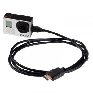 XM46 Full 1080P Vidéo HDMI vers le câble Micro HDMI pour Xiaomi Xiaoyi, Longueur: 1,5 m SX52371-20