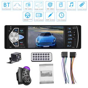 4,1 pouces voiture HD MP5 Bluetooth mains libres véhicule carte lecteur MP5 4022D avec caméra arrière noir C0CSMQ4280-20