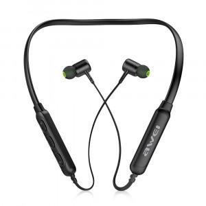Awei G30BL Magic Magnet Sans fil Bluetooth 4.2 Casque Bandeau Sport Écouteurs Soutien Appels Mains Libres Noir C55301664-20