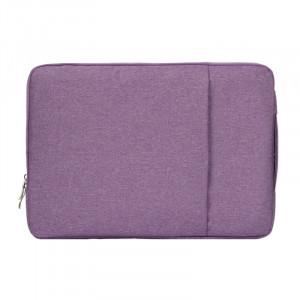 Sac à bandoulière portable universel de mode 11,6 pouces Sac à bandoulière portable portable pour ordinateur portable pour MacBook Air, Lenovo et autres ordinateurs portables, taille: 32,2x21,8x2cm (violet) SS010P-20