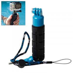 TMC Grenade Poignée légère pour GoPro Hero 4 / 3+ / 3/2, HR203 (Bleu) ST100L2-20