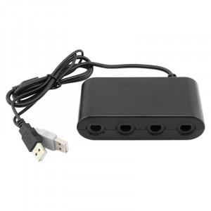 Adaptateur de contrôleur 4 ports GameCube pour Nintendo Wii U SA5909-20