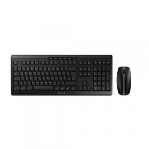 CHERRY STREAM DESKTOP Keyboard and mouse set wireless 2.4 GHz French key switch: CHERRY SX black XH2343316N1250-20