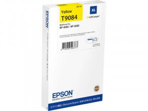 Epson T9084 Jaune XL Cartouche pour WorkForce Pro WF-6XXX ENCEPS0383-20