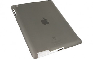 Novodio Smart BackCover Frost Black Coque pour iPad 2 compatible Smart Cover IPDNVO0017-20