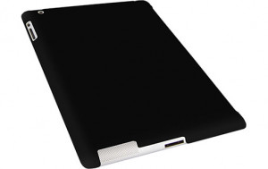 Novodio Smart BackCover Black Mat Coque pour iPad 2 compatible Smart Cover IPDNVO0024-20