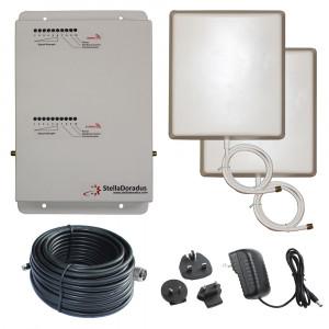 Stella Doradus Booster / répéteur / amplificateur des signaux GSM + 3G / 900 2100Mhz 1000m² SDB9003G01-20