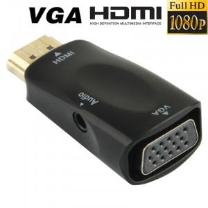 Adaptateur HDMI vers VGA Full HD 1080P + Audio AHDVGAA01-20