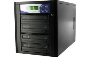 Tour de duplication 3 DVD autonome 3X-24X (4 graveurs 24X) LCD TOUMWY0026N-20