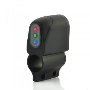 Alarme de vélos protégé par mot de passe , résistant aux intempéries, Sirène 110dB AVPMDP01-20
