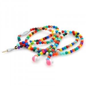 Écouteurs collier Microphone / Cordon d'extension écouteurs / Multi-couleur CN7866-20