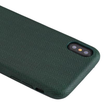 Pour iPhone X / XS TPU Housse de protection arrière (vert) SH466G731-20