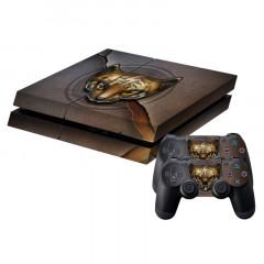 Autocollant de peau de protection pour autocollant pour peau de protection pour console de jeux PS4