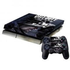 Autocollant de peau de couverture pour autocollant en peau de protection pour console de jeux PS4