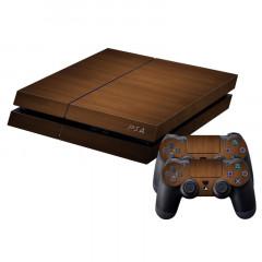 Peau de protection en peau de protection en peau autocollante Autocollant pour console de jeux PS4