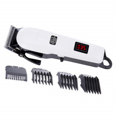 Tondeuse cheveux électrique Tête de coupe en acier sans fil avec batterie