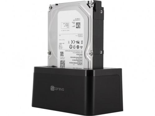 "Storeva DriveDock Type-C 10 To Dock USB-C UASP + Disque dur 3,5"" 7200 tr/min ADPSRV0195D-04"