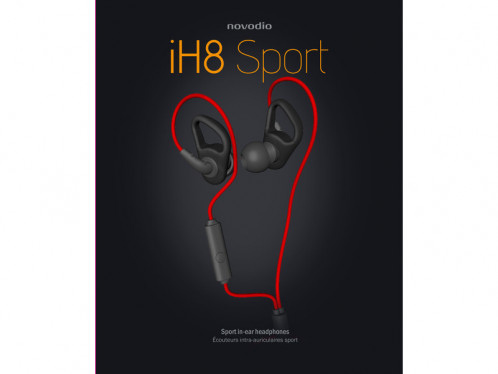 Novodio iH8 sport Écouteurs Intra-Auriculaires Sport + Micro MICNVO0016-05