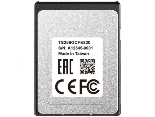 Transcend CFexpress 820 256 Go Carte mémoire CFexpress Type B CSTTSD0023-03