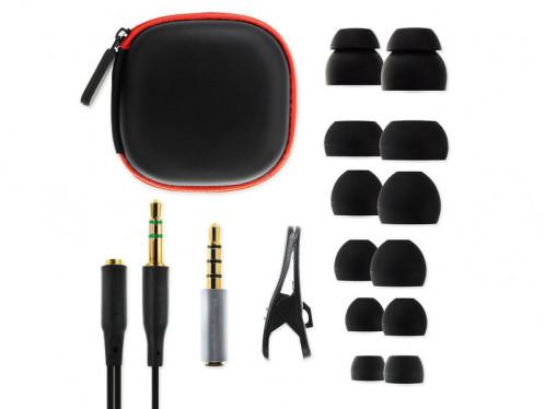 SoundMagic E10C Gun Black Ecouteurs intra-auriculaires avec micro MICSDM0038-05