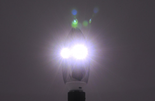 Ampoule LED fleur de lotus 350 lumens / 4W / Blanc froid CL7989-08